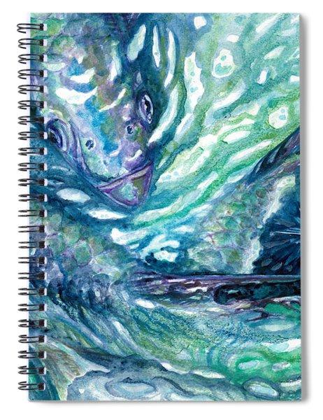 Tarpon Frenzy Spiral Notebook