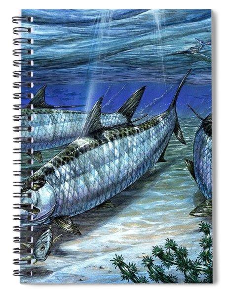 Tarpon In Paradise - Sabalo Spiral Notebook