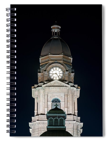 Tarrant County Courthouse V2 020815 Spiral Notebook