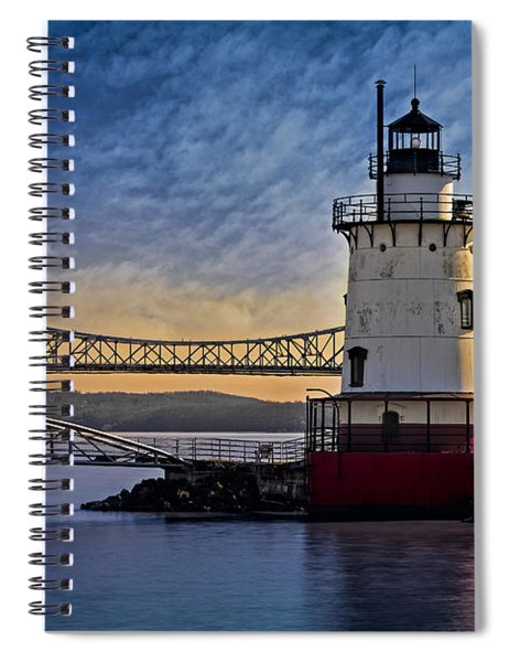 Tarrytown Light Spiral Notebook