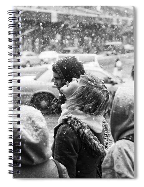 Tasteofsnow Spiral Notebook
