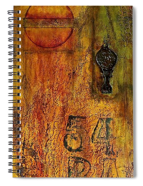 Tattered Wall  Spiral Notebook