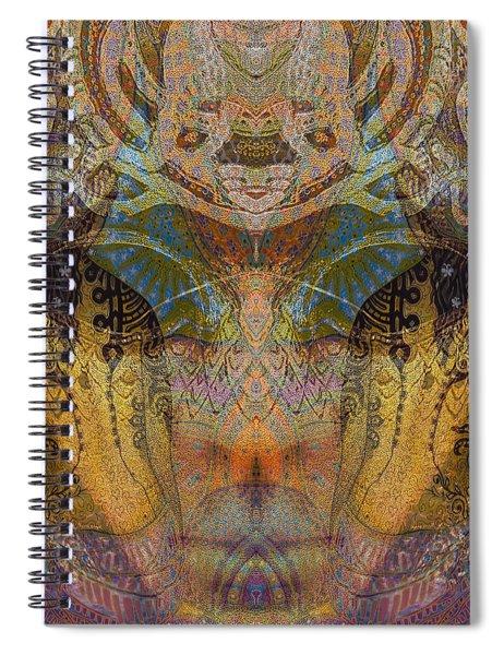 Tattoo Mask Spiral Notebook