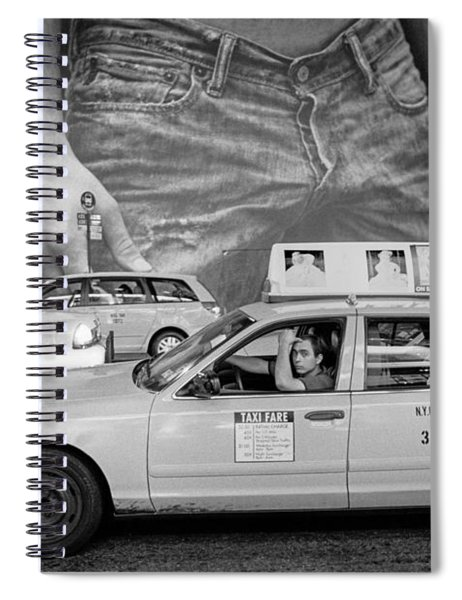 Taxis On Fifth Avenue Spiral Notebook
