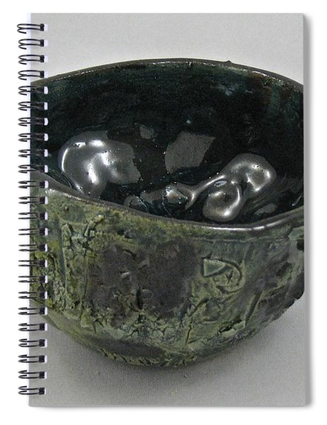 Tea Bowl #5 Spiral Notebook
