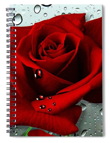 Tears From My Heart Spiral Notebook