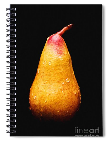 Tears Of A Sad Pear Spiral Notebook