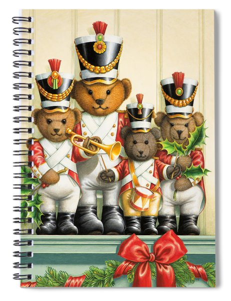 Teddy Bear Band Spiral Notebook