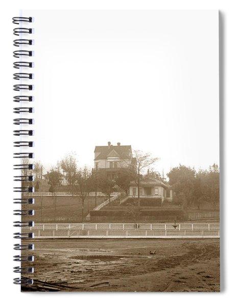 Teekalet Hotel Port Gamble Washington State Circa1905 Spiral Notebook