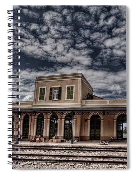 Tel Aviv First Railway Station Spiral Notebook