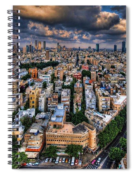 Tel Aviv Lookout Spiral Notebook