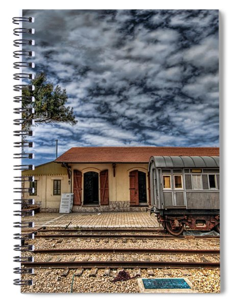 Tel Aviv Old Railway Station Spiral Notebook