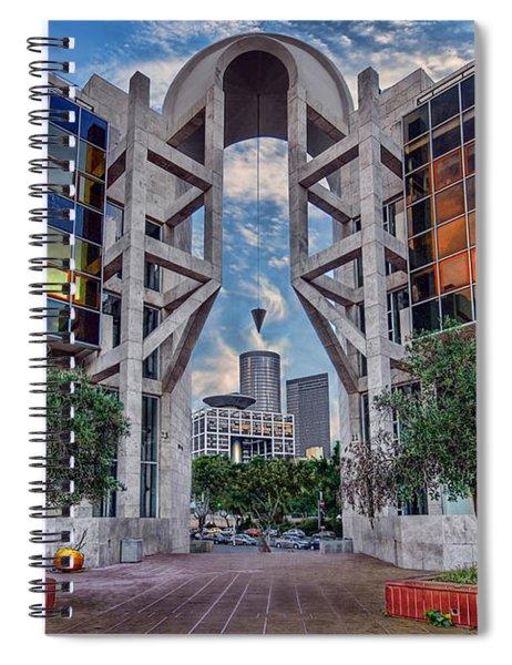 Tel Aviv Performing Arts Center Spiral Notebook