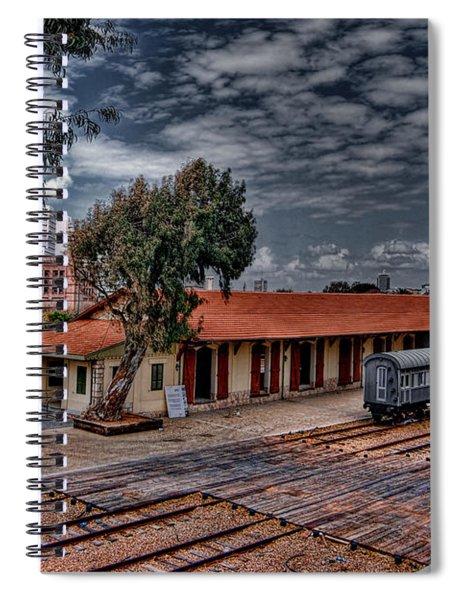 Tel Aviv To Jerusalem Spiral Notebook