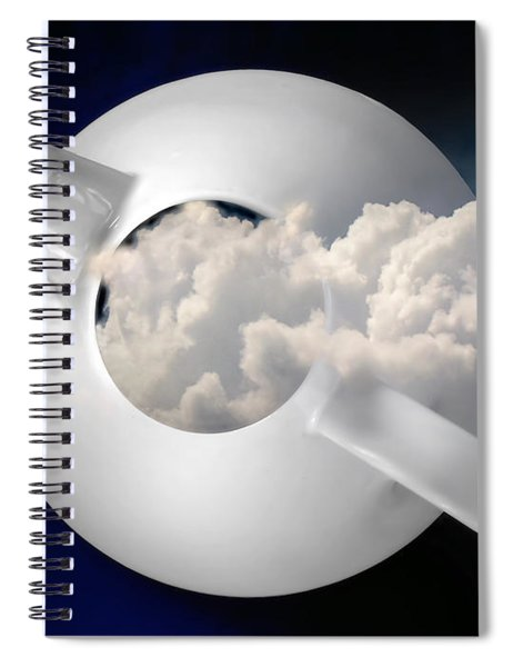 Tempest In A Teapot Spiral Notebook