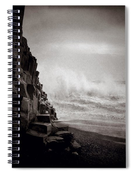 Raging Sea Spiral Notebook