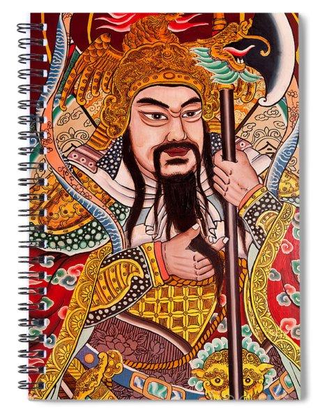 Temple Door 03 Spiral Notebook