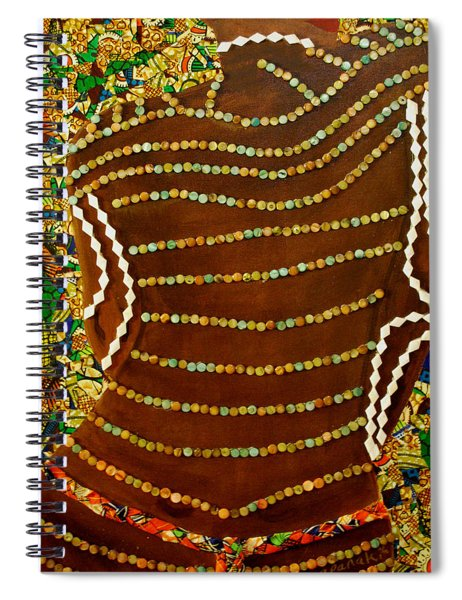 Temple Of The Goddess Eye Vol 2 Spiral Notebook