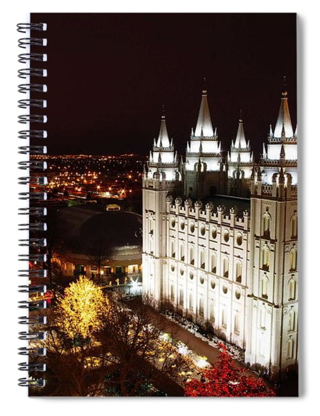 Temple Square Spiral Notebook