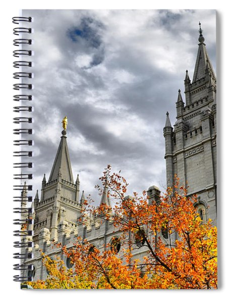 Temple Trees Spiral Notebook