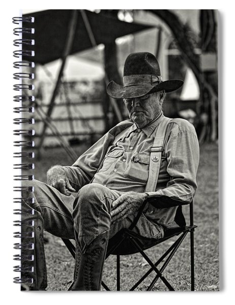 Cowboy And The Ten Gallon Hat Spiral Notebook