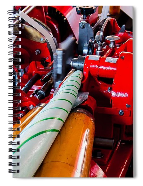 Spiral Notebook featuring the photograph Tennessee Taffy by Robert L Jackson