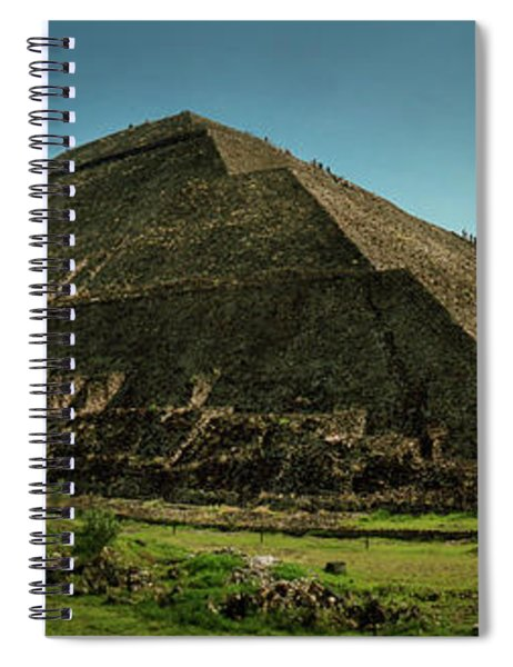 Teotihuacan Pyramids Archaeological Spiral Notebook