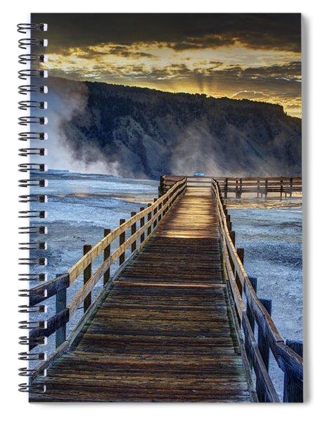 Terrace Boardwalk Spiral Notebook