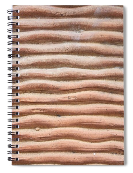 Terracotta Background Spiral Notebook