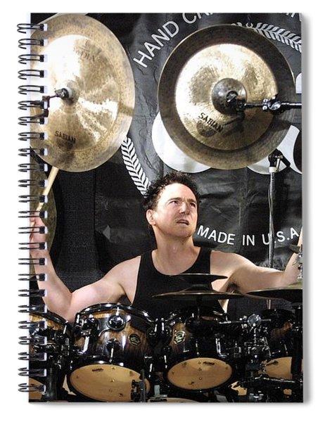 Terry Bozzio Spiral Notebook