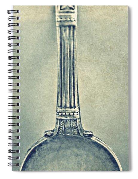 Silver Spoon Spiral Notebook
