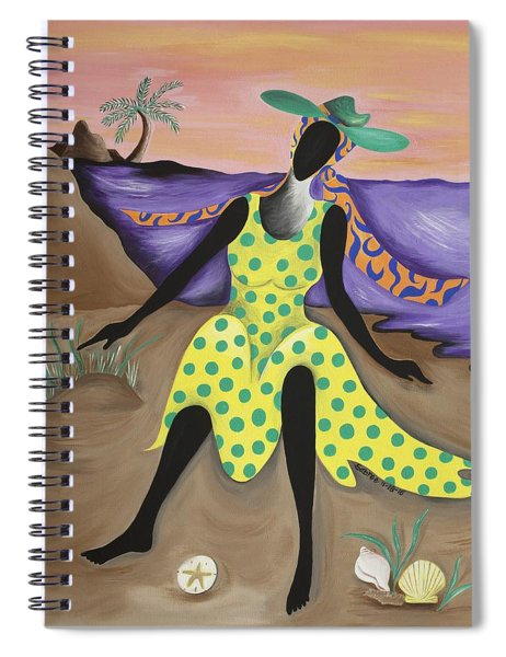 Test The Waters Spiral Notebook