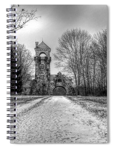 Testimonial Gateway Tower Spiral Notebook