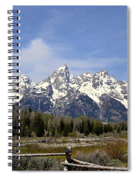 Teton Majesty Spiral Notebook