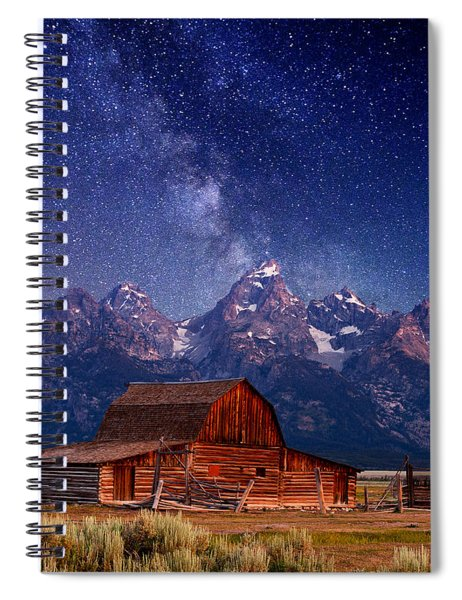 Teton Nights Spiral Notebook