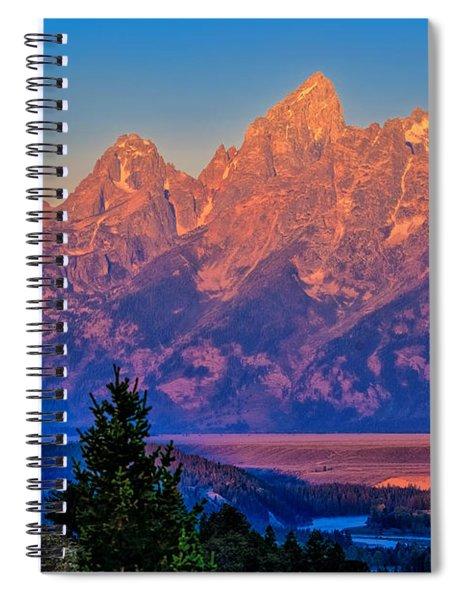 Teton Peaks Spiral Notebook