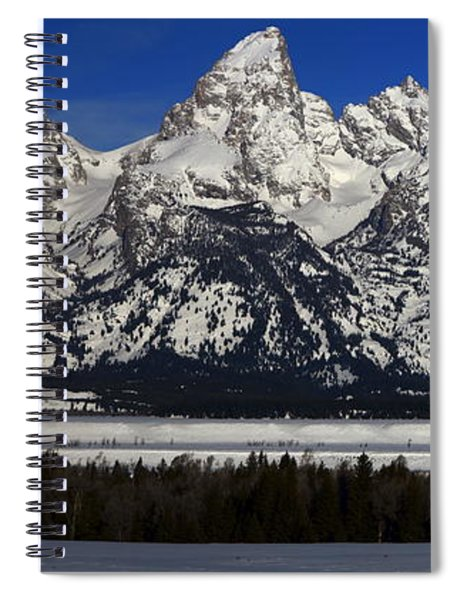 Tetons From Glacier View Overlook Spiral Notebook