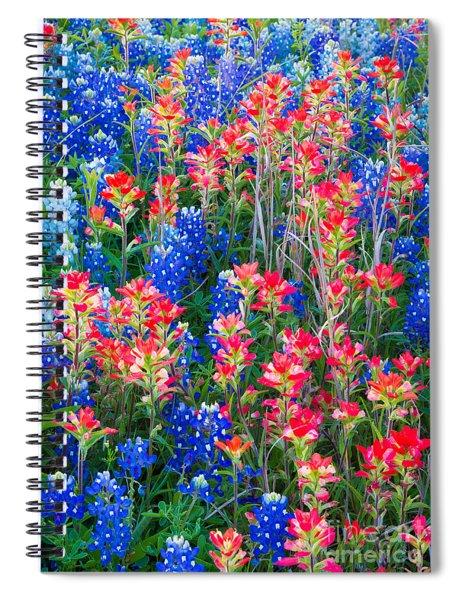 Texan Quilt Spiral Notebook