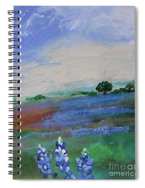 Texas Bluebonnets Spiral Notebook