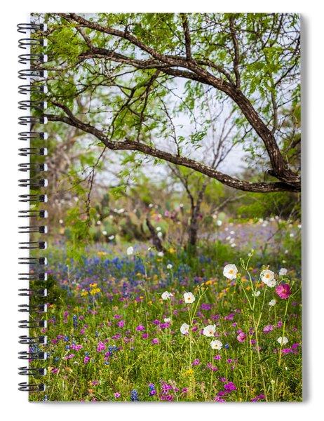 Texas Roadside Wildflowers 732 Spiral Notebook