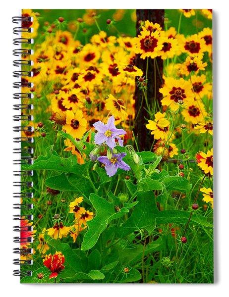 Texas Spring Delight Spiral Notebook