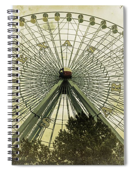 Texas Star Old Fashioned Fun Spiral Notebook