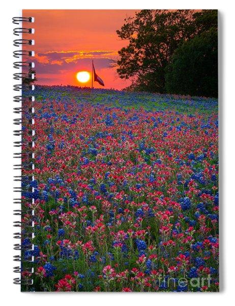 Texas Sunset Spiral Notebook