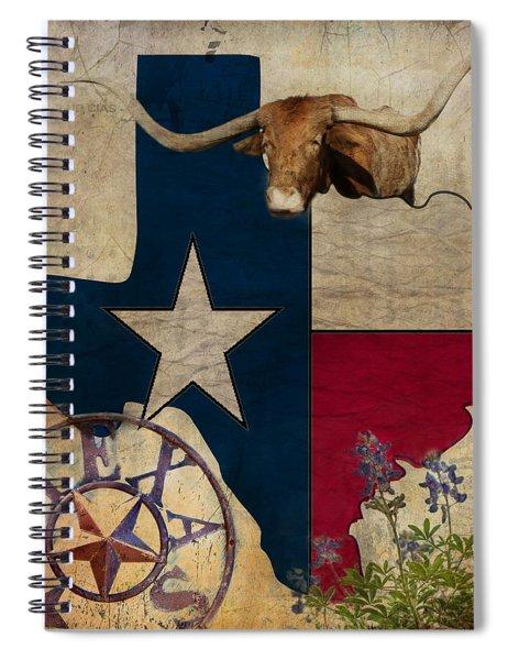 Texas Spiral Notebook
