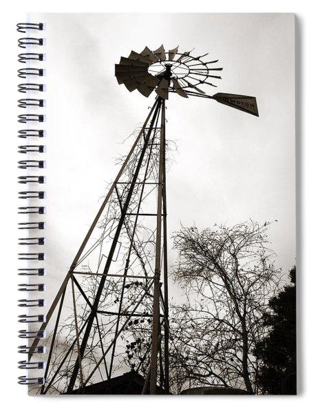 Texas Windmill Spiral Notebook
