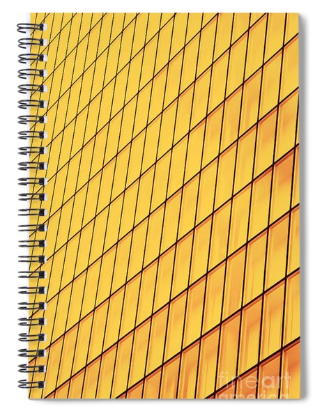 Texture Of Glass Wall Spiral Notebook