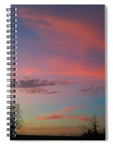 Thankful For The Day Spiral Notebook