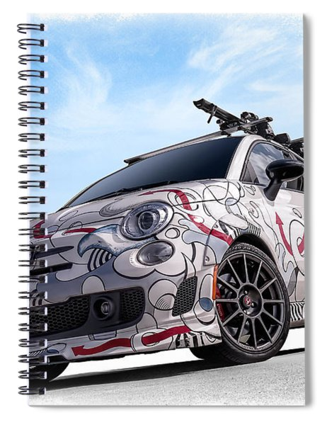 The 500 Spiral Notebook