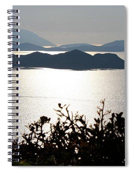 The Absolute Calm By Julia Fine Art Spiral Notebook