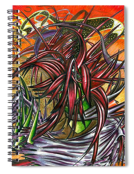 The Abysmal Demon Of Hair Spiral Notebook
